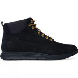 Timberland Mens Killington Chukka Shoes Black Nubuck