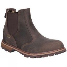 Muck Boot Mens Chelsea Leather Ankle Boot Brown