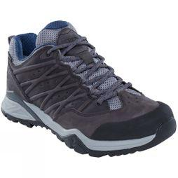 The North Face Mens Hedge Hike II Mid Gore-Tex Shoes Zinc Grey/Shady Blue