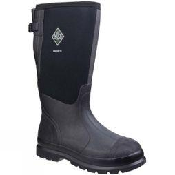 Muck Boot Mens Chore XF Gusset Classic Work Boot Black