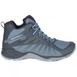 Merrell Womens Siren Edge Q2 Mid Boot Lt Blue