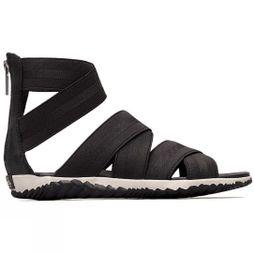 Sorel Women's Out 'N About Plus Strap Sandal Black