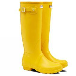 Hunter Womens Hunter Original Tall Welly Yellow