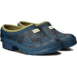 Hunter Womens National Trust Print Gardener Clog Dusk