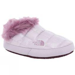 The North Face Womens Thermoball  Faux Fur Tent Mules V Iris Lavender/Italian Plum Purple