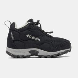 Columbia Youth FIRECAMP MID 2 Waterproof Shoe Black/ Monument