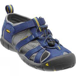 Keen Youth Seacamp II CNX Sandal Blue Depths / Gargoyle