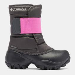 Columbia Youth ROPE TOW KRUSER 2 Snow Boot Dark Grey/ Pink Ice