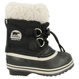 Sorel Kids Yoot Pac Nylon Boot Black