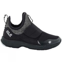 Jack Wolfskin Girls Heljar Low Shoe Black