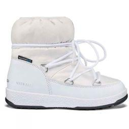 Moon Boots Girls JR Low Nylon WP Boot White