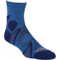Bridgedale Mens Lightweight Merino Cool Sock Storm/Navy