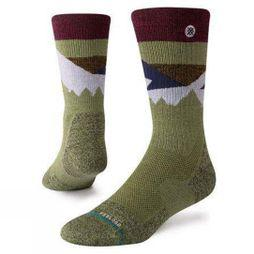 Stance Mens Hike Crew Socks Divide Hike
