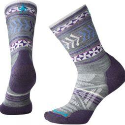 Womens PhD Outdoor Light Pattern Crew Socks