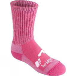 Bridgedale Junior Merino Comfort Sock Pink