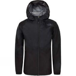 The North Face Boys Zipline Rain Jacket TNF Black