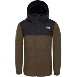 The North Face Boys Resolve Reflective Jacket Age 14+ New Taupe