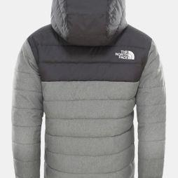 The North Face Boys Reversible Perrito Jacket TNF Medium Grey Heather