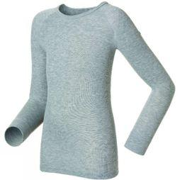 Odlo Kids Warm LS Crew 14+ Grey Melange
