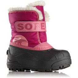 Sorel Kids Snow Commander Boot Tropic Pink/Deep Blush