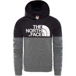 The North Face Boys Drew Peak Raglan PV Hoodie TNF Black