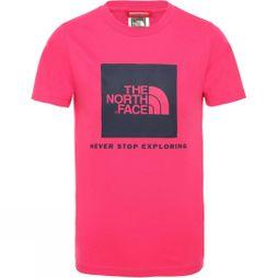 The North Face Youth Box T-Shirt Cabaret Pink