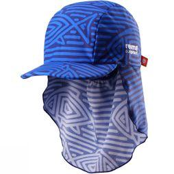 Reima Kids Somme Sun Hat NAVY FISH PRINT