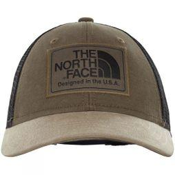 The North Face Youth Mudder Trucker Cap New Taupe Green/TNF Black