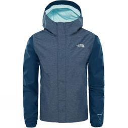 The North Face Girl's Resolve Reflective Jacket Blue Wing Teal Heather