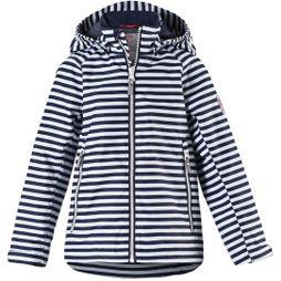Reima Girls Schiff Jacket Navy/White Stripe