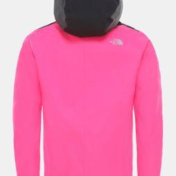 The North Face Girls Resolve Reflective Jacket Mr. Pink