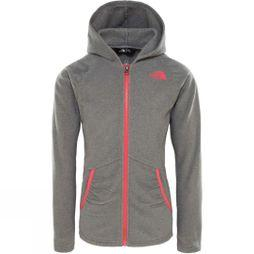 The North Face Girls Mezzaluna Hoodie Age 14+ TNF Medium Grey Heather