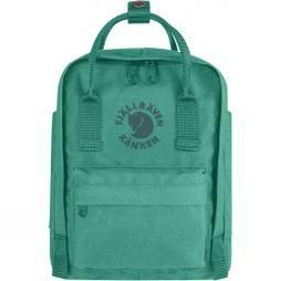 Fjallraven Re-Kånken Mini Rucksack Emerald