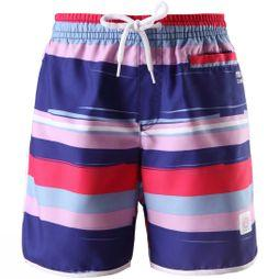 Reima Kids Seashell Board Shorts STRAWBERRY RED STRIPE