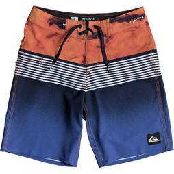 Quiksilver Kids Highline Lava Division Youth 17 Board Shorts 14+ Navy Blazer