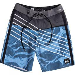 Quiksilver Kids Highline Lava Slash Youth 17 Board Shorts Real Teal
