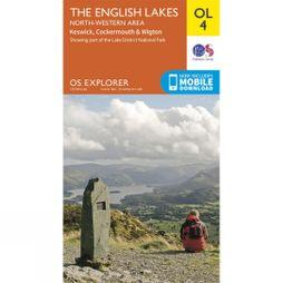 Ordnance Survey English Lakes - North West Area  V15