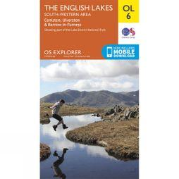 Ordnance Survey English Lakes - South Western Area V15