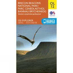 Ordnance Survey Brecon Beacons West 12 V15