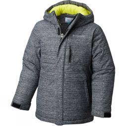 Columbia Boy's Alpine Free Fall Jacket Black Texture Print