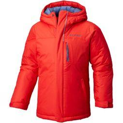 Columbia Boy's Alpine Free Fall Jacket Red Spark,Dark Mountain