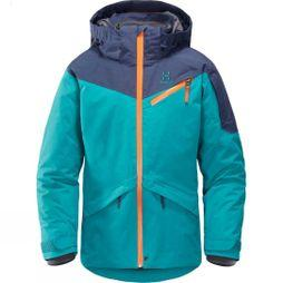 Haglofs Junior Niva Insulated Jacket Alpine Green/Tarn Bl
