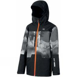 Picture Boys Proden Jacket 14+ Black Aravis Print