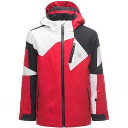 Spyder Boys Leader Jacket Age 14+ Red/ Black/ White