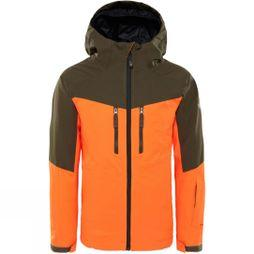The North Face Boys Chakal Insulated Jacket Power Orange