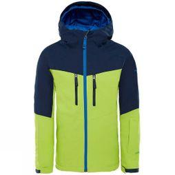 The North Face Boys Chakal Insulated Jacket Age 14+ Lime Green