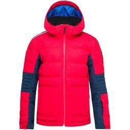 Rossignol Boys Hiver Jacket 14+ Sports Red