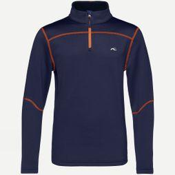 KJUS Boy's Charger Half Zip Atlanta Blue