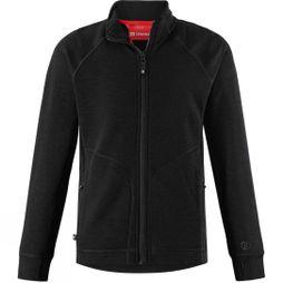 Reima Boys Muddus Merino Blend Fleece Black