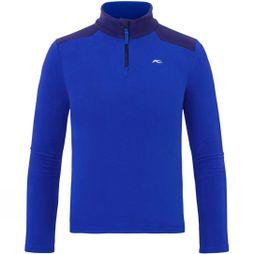 KJUS Boy's Charger Half Zip Fleece Wintersky/Into The Blue